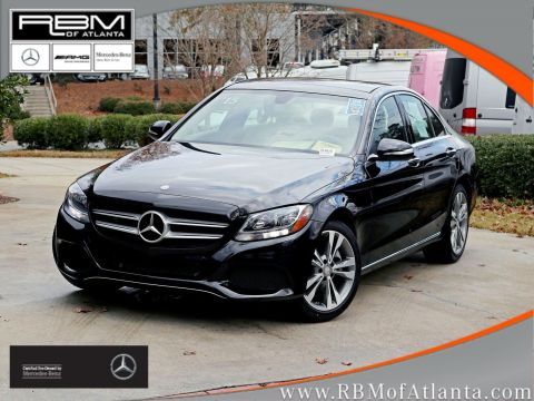 Certified Pre-Owned 2015 Mercedes-Benz C-Class C 300 Sedan