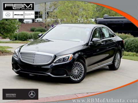 Certified Pre-Owned 2015 Mercedes-Benz C-Class C 300 Luxury 4MATIC® Sedan