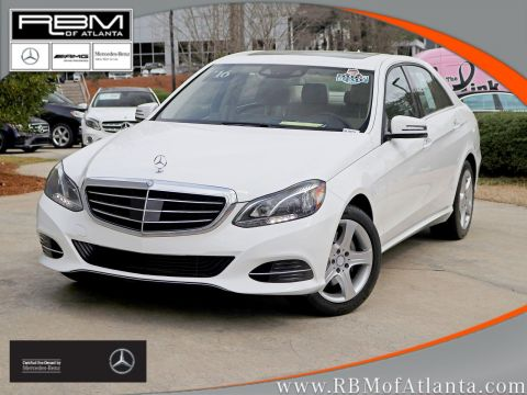 Certified Pre-Owned 2016 Mercedes-Benz E-Class E 350 Luxury Sedan