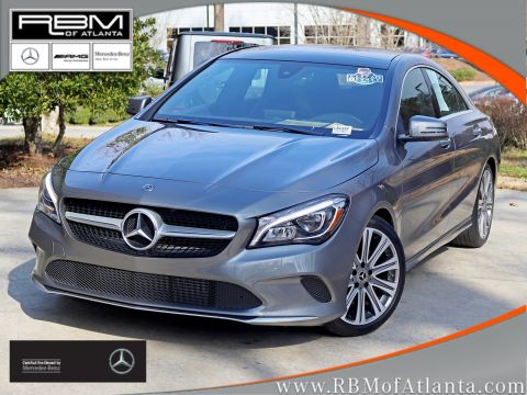 Certified Pre-Owned 2018 Mercedes-Benz CLA CLA 250 Coupe