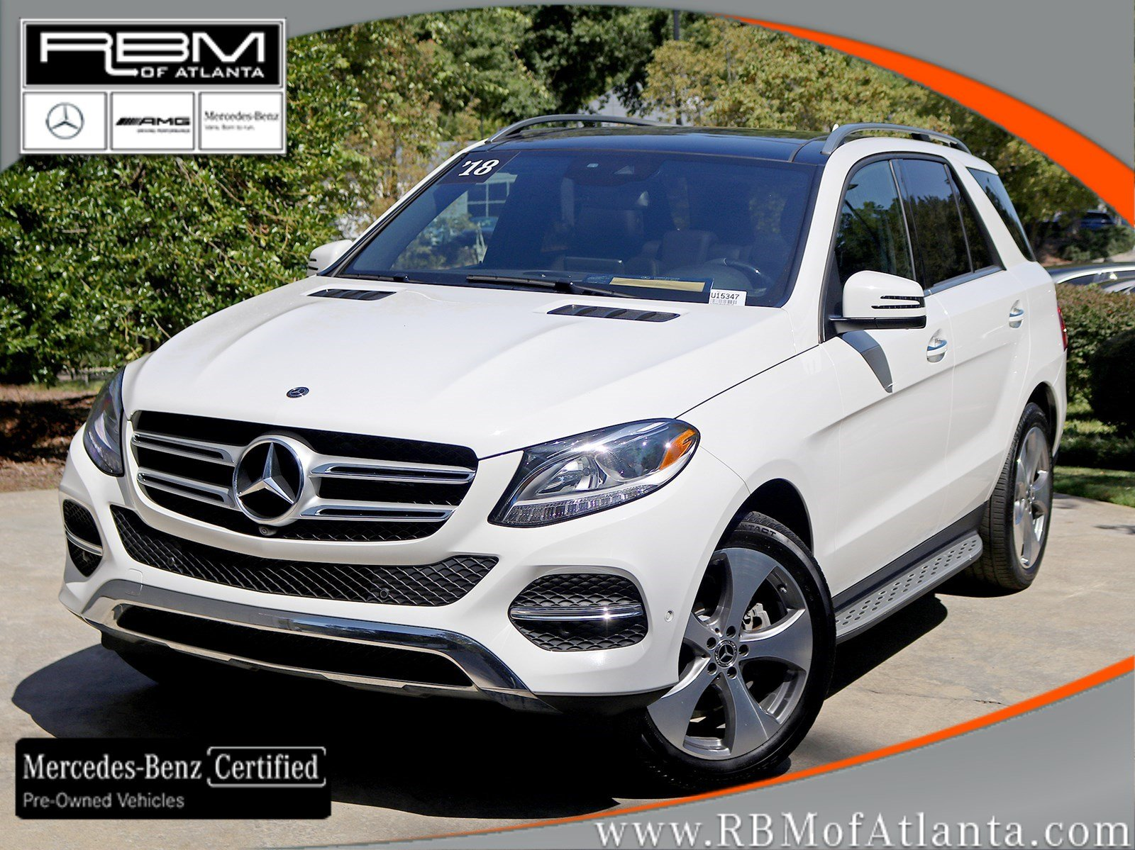 Certified Pre-Owned 2018 Mercedes-Benz GLE GLE 350 2WD