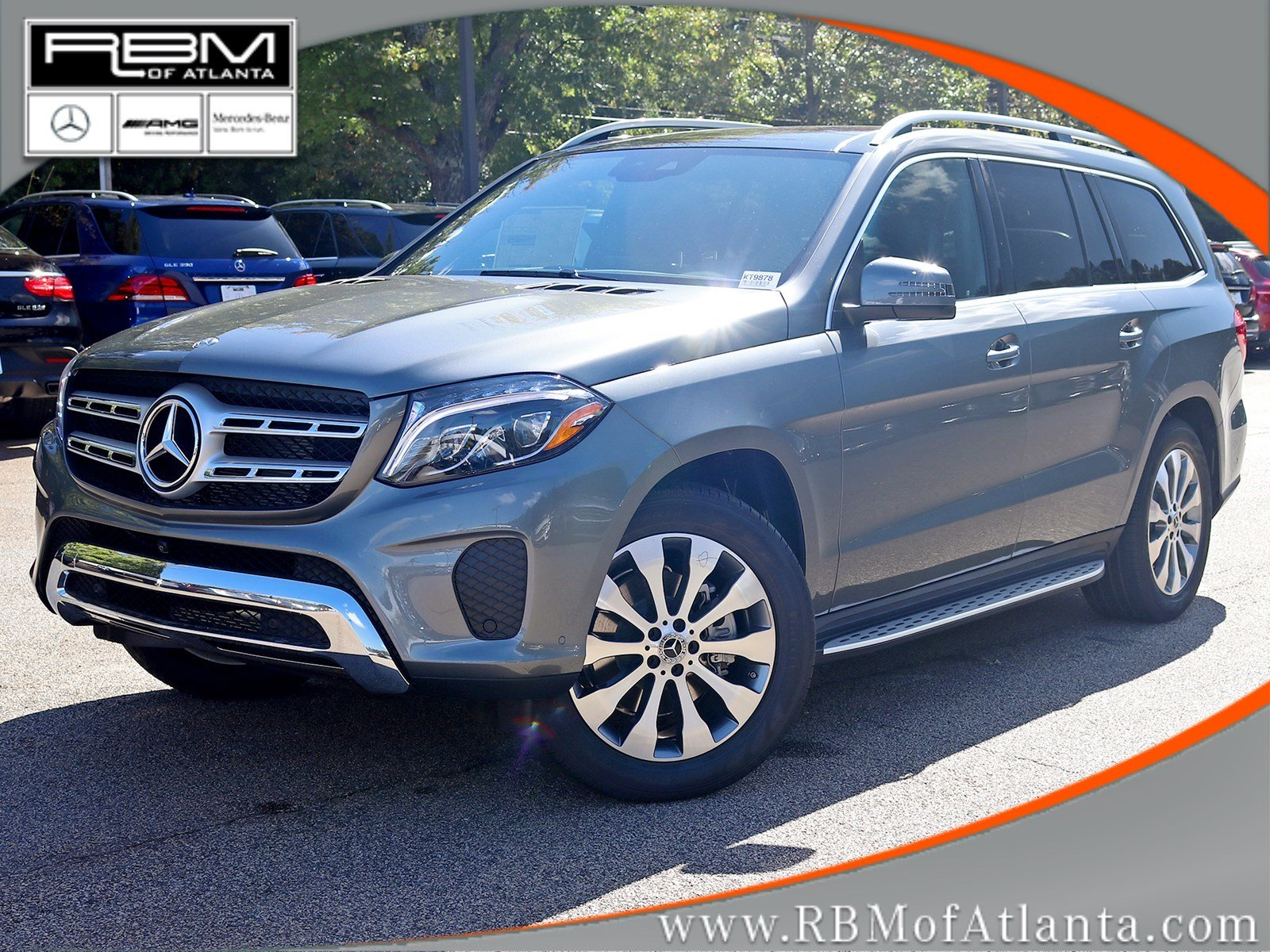 New 2018 mercedes benz gls gls 450 suv in atlanta kt9878 for Mercedes benz mechanic jobs