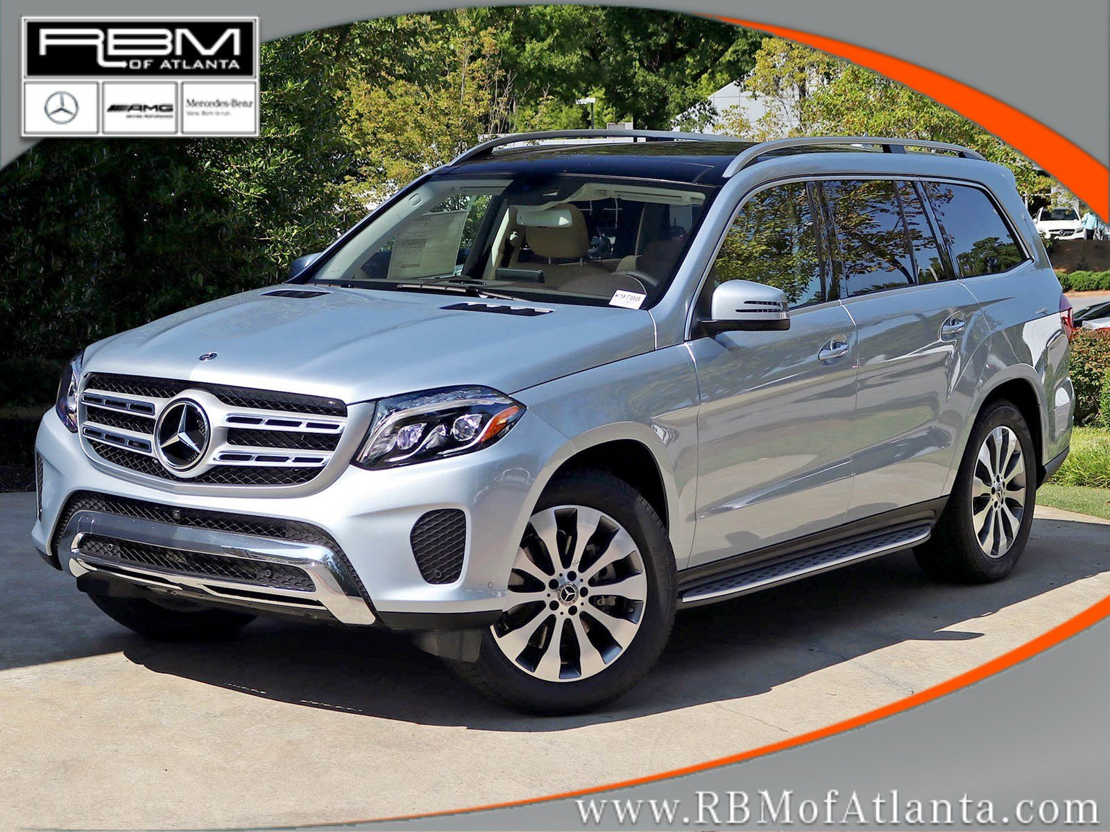 New 2018 mercedes benz gls gls 450 suv in atlanta k9788 for Rbm mercedes benz
