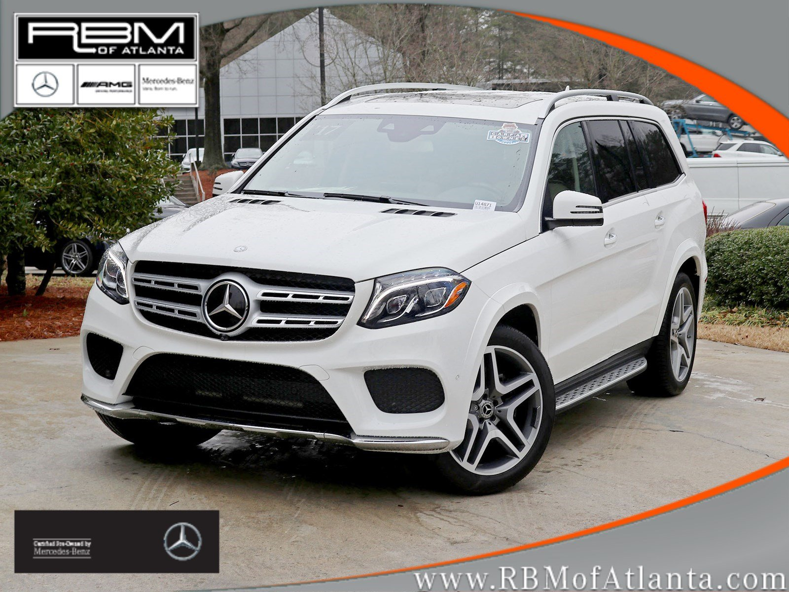 Certified Pre Owned 2017 Mercedes Benz Gls 550 4matic