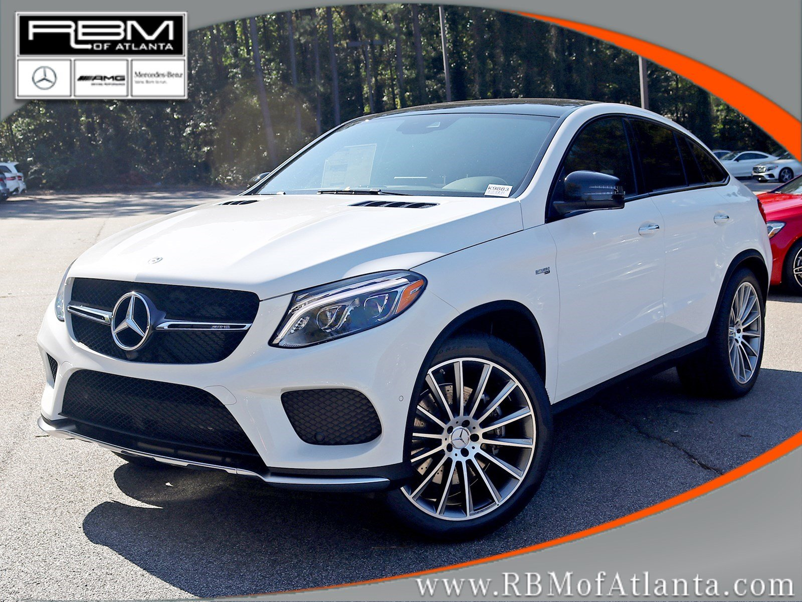 new 2018 mercedes benz gle gle 43 amg coupe coupe in atlanta k9883 rbm of atlanta. Black Bedroom Furniture Sets. Home Design Ideas