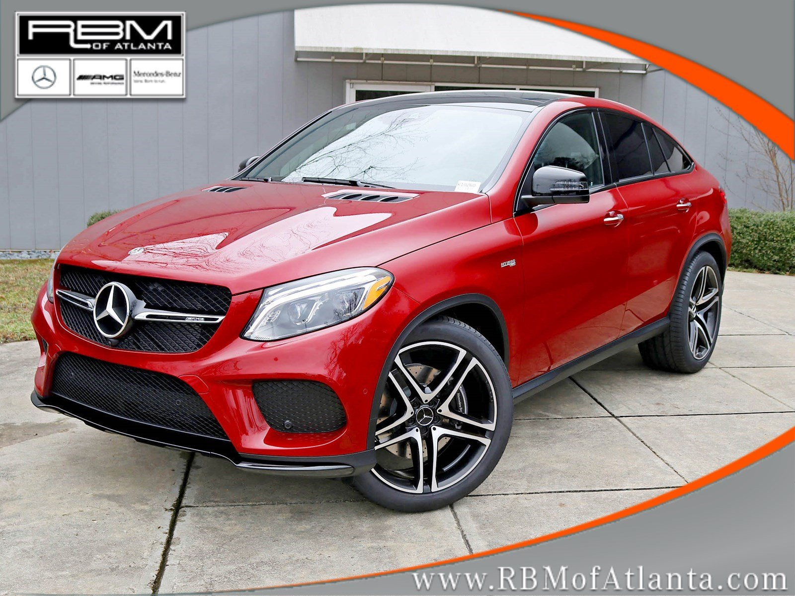 new 2018 mercedes benz gle amg gle 43 coupe in atlanta. Black Bedroom Furniture Sets. Home Design Ideas