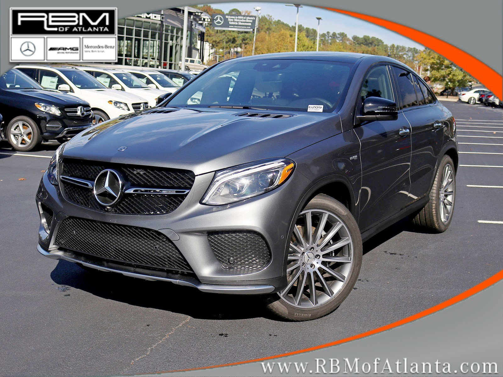 New 2019 Mercedes Benz GLE AMG GLE 43 Coupe Coupe in Atlanta G209