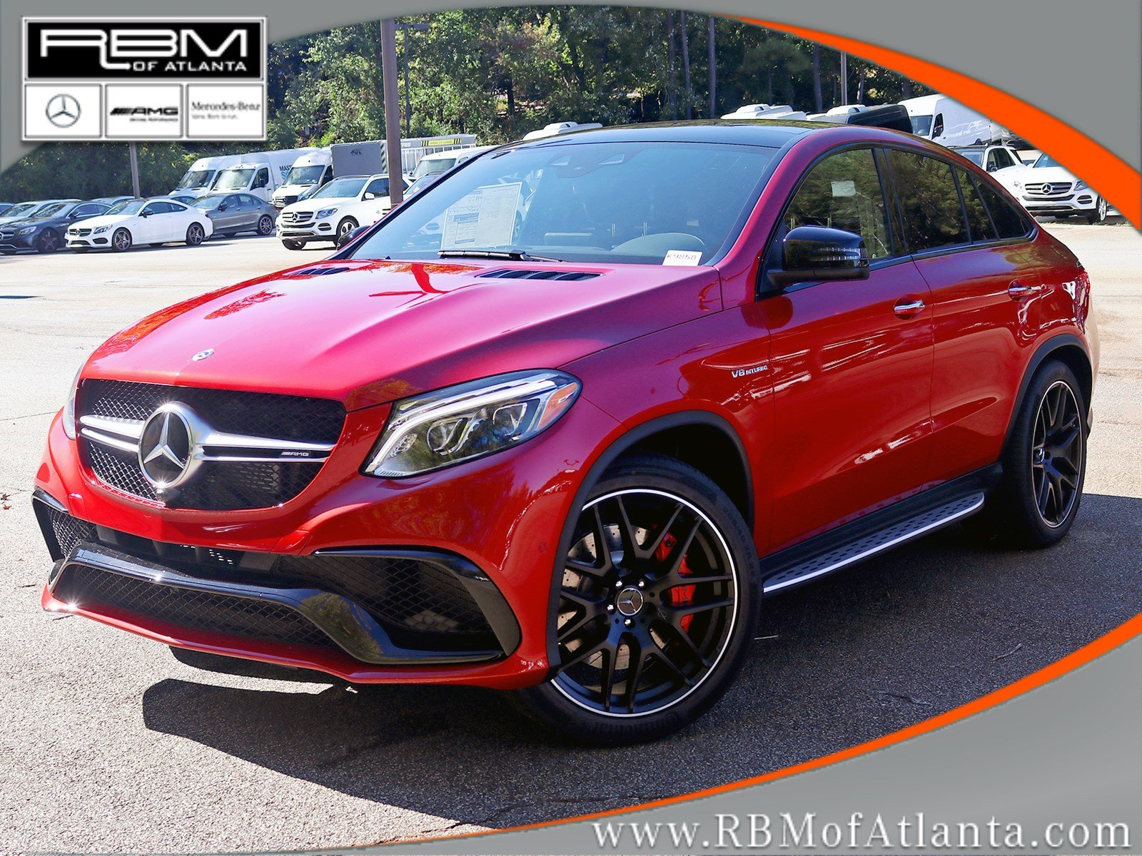 new 2018 mercedes benz gle gle 63 s amg coupe coupe in atlanta k9858 rbm of atlanta. Black Bedroom Furniture Sets. Home Design Ideas