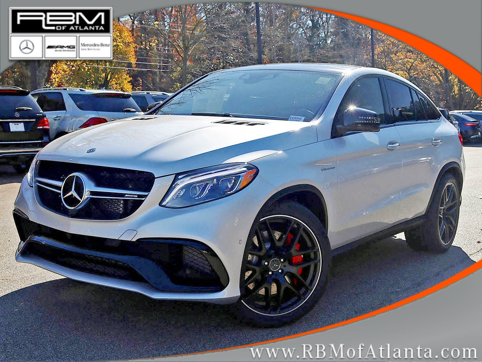 New 2018 Mercedes Benz GLE AMG GLE 63 S COUPE in Atlanta K