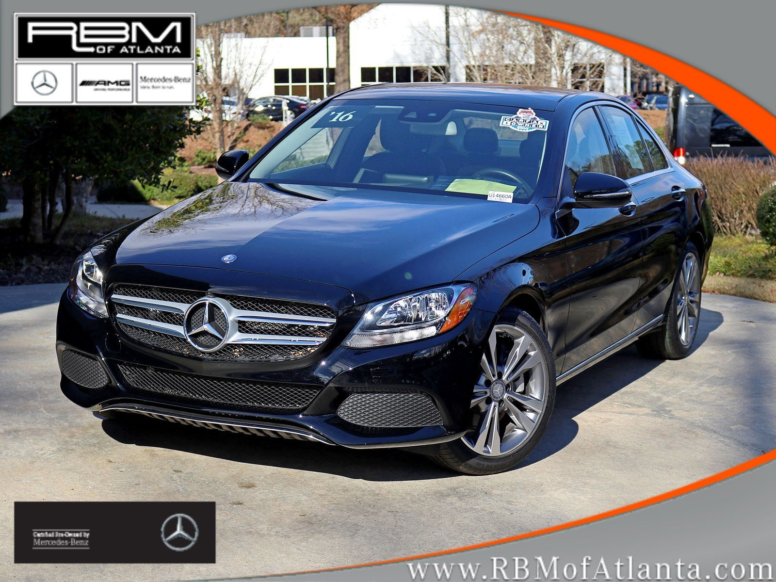 Certified Pre-Owned 2016 Mercedes-Benz C-Class C 300 Sedan
