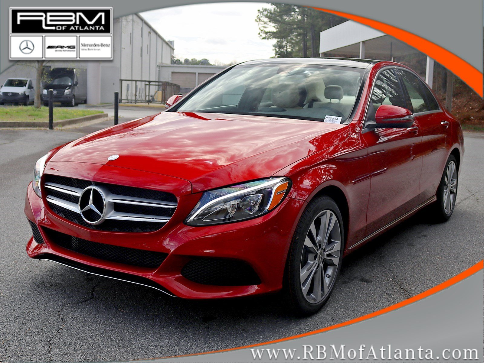 New 2017 mercedes benz c class c 300 4dr car in atlanta for Mercedes benz rbm