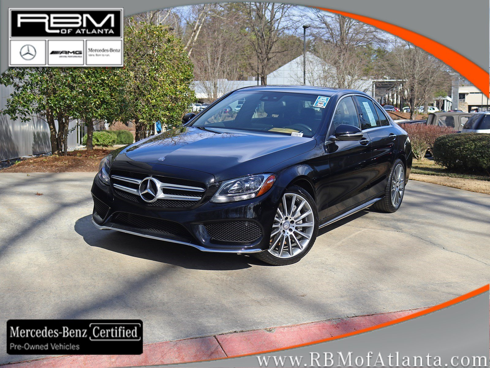 Certified Pre-Owned 2016 Mercedes-Benz C-Class C 300 Sport 4MATIC® Sedan