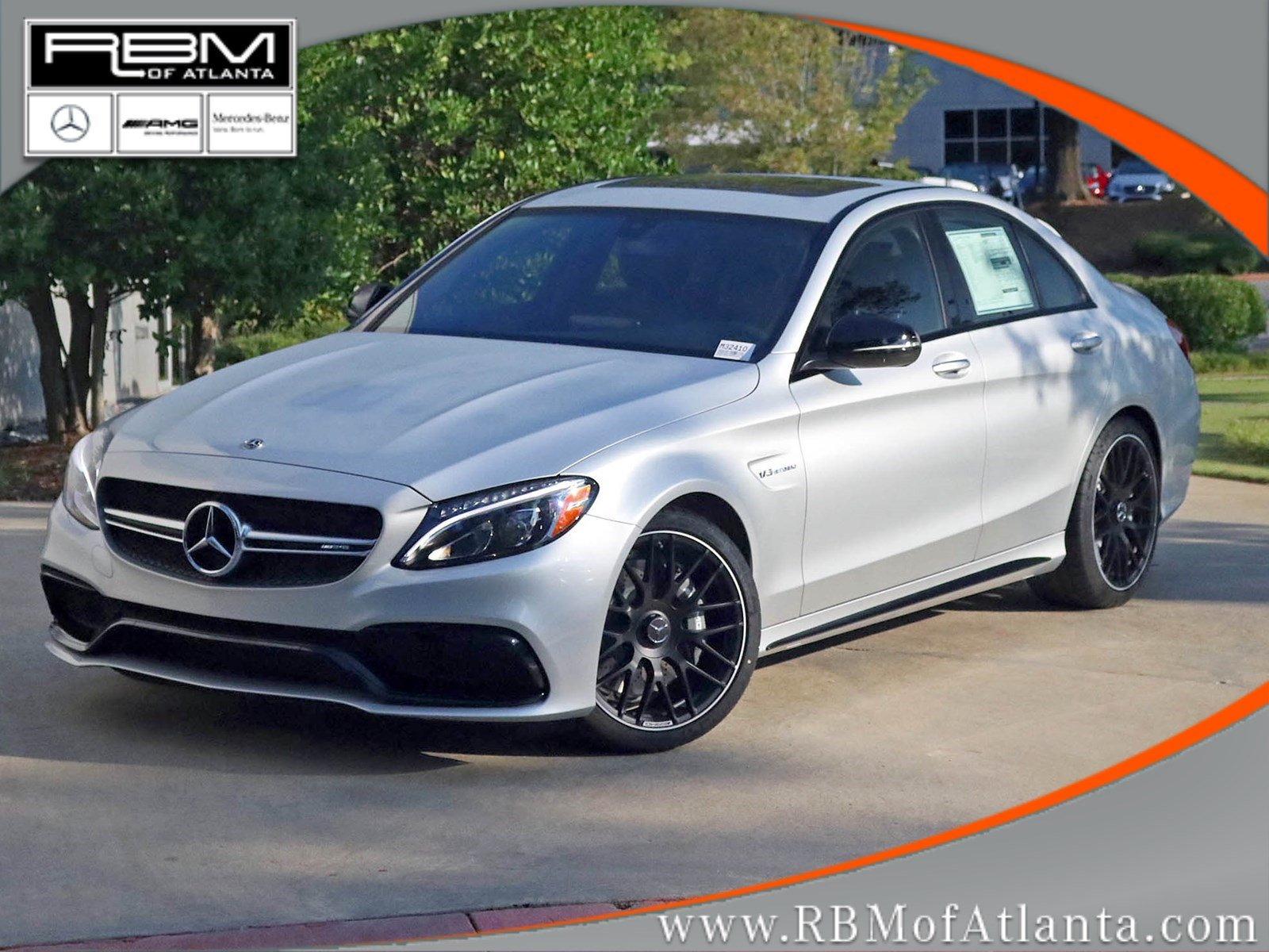 new 2018 mercedes benz c class c 63 amg sedan sedan in atlanta m32410 rbm of atlanta. Black Bedroom Furniture Sets. Home Design Ideas