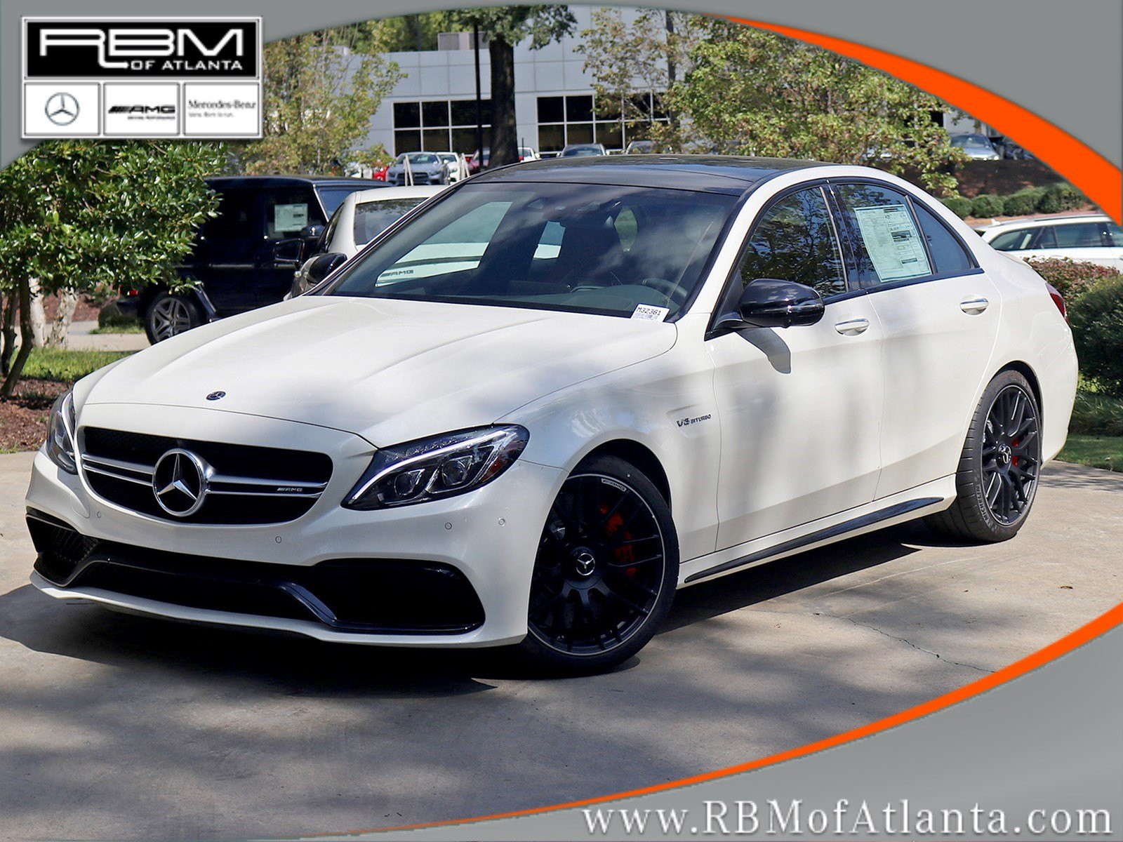 new 2018 mercedes benz c class amg c 63 s sedan sedan in atlanta m32361 rbm of atlanta. Black Bedroom Furniture Sets. Home Design Ideas