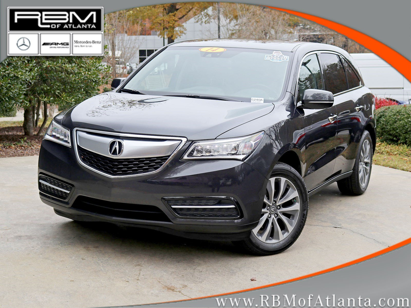 Pre Owned 2014 Acura MDX Tech Pkg Sport Utility in Atlanta G240A