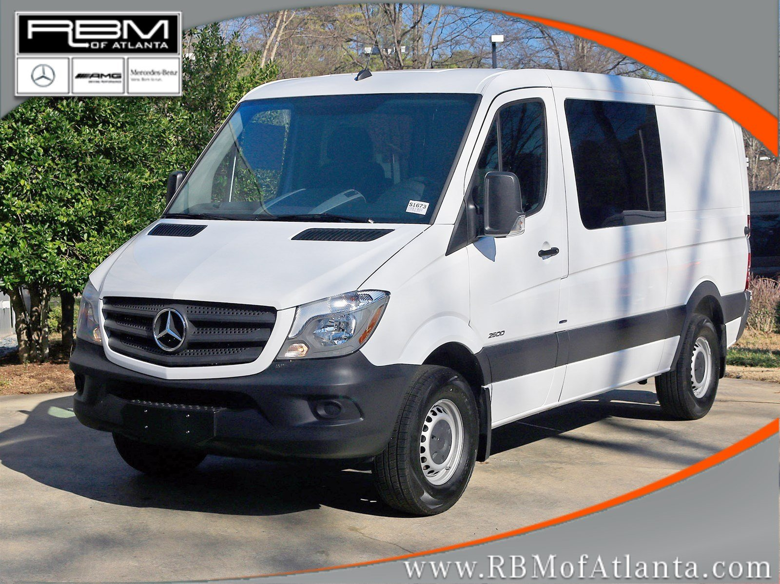 New 2016 mercedes benz sprinter 2500 crew van crew van in for New mercedes benz sprinter