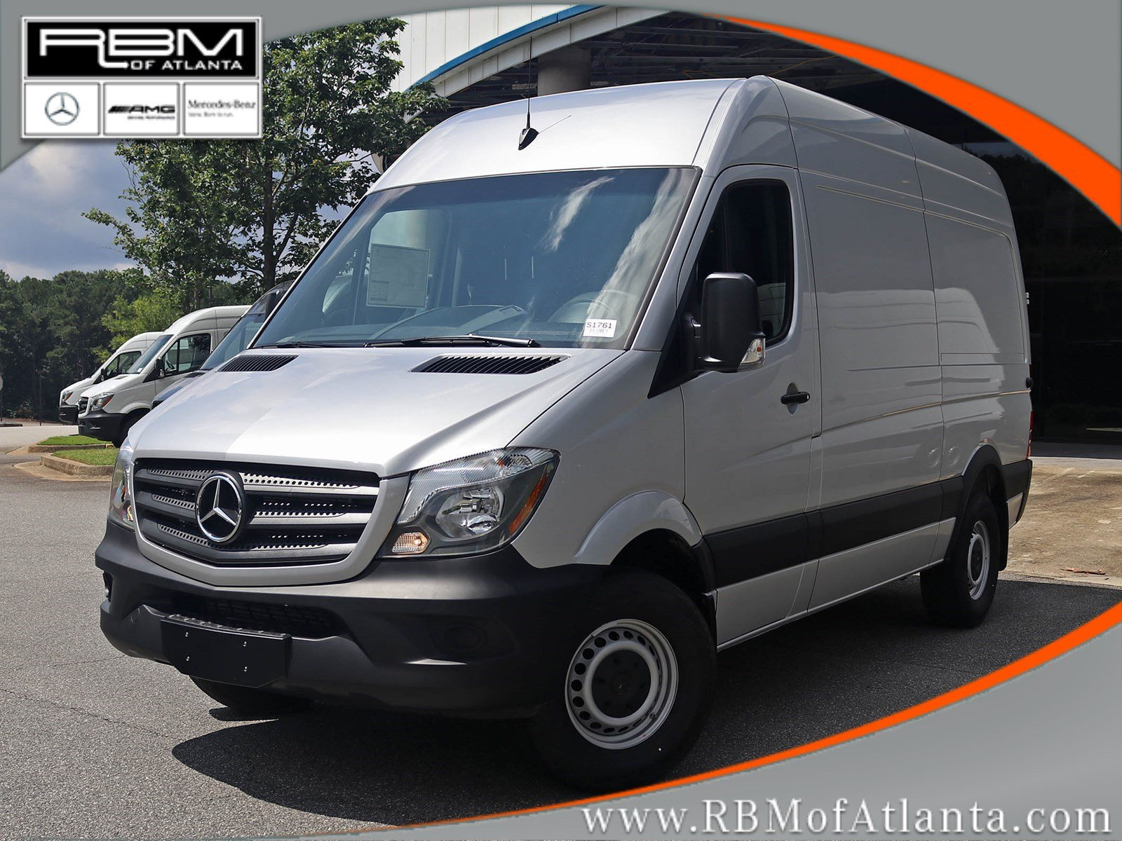 New 2017 Mercedes Benz Sprinter Cargo Van Full Size Cargo