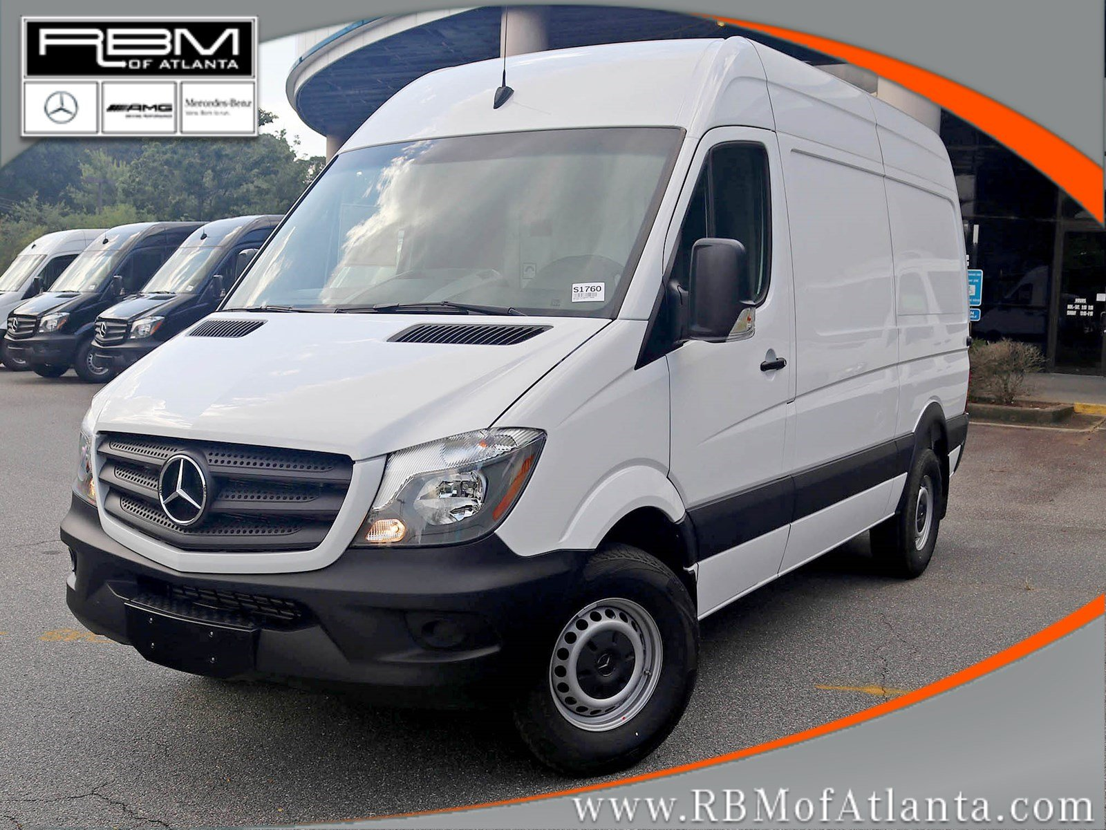 New 2017 Mercedes Benz Sprinter CARGO VAN in Atlanta S1760