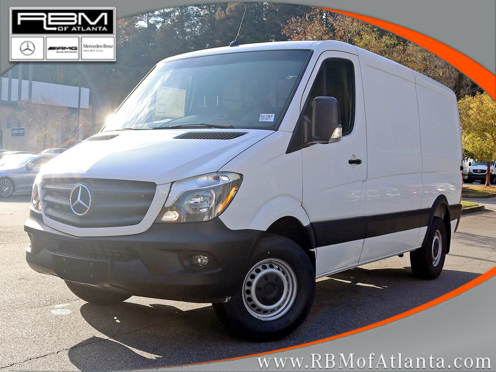 New 2017 mercedes benz sprinter cargo van in atlanta for Mercedes benz customer service email address