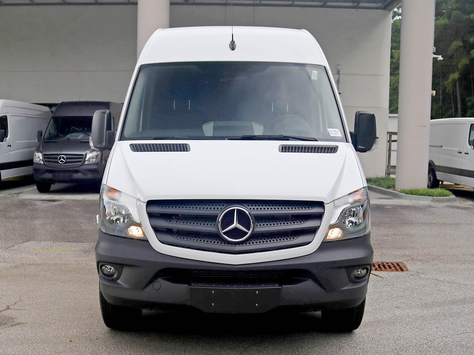 New 2017 mercedes benz sprinter cargo van full size cargo for New mercedes benz sprinter