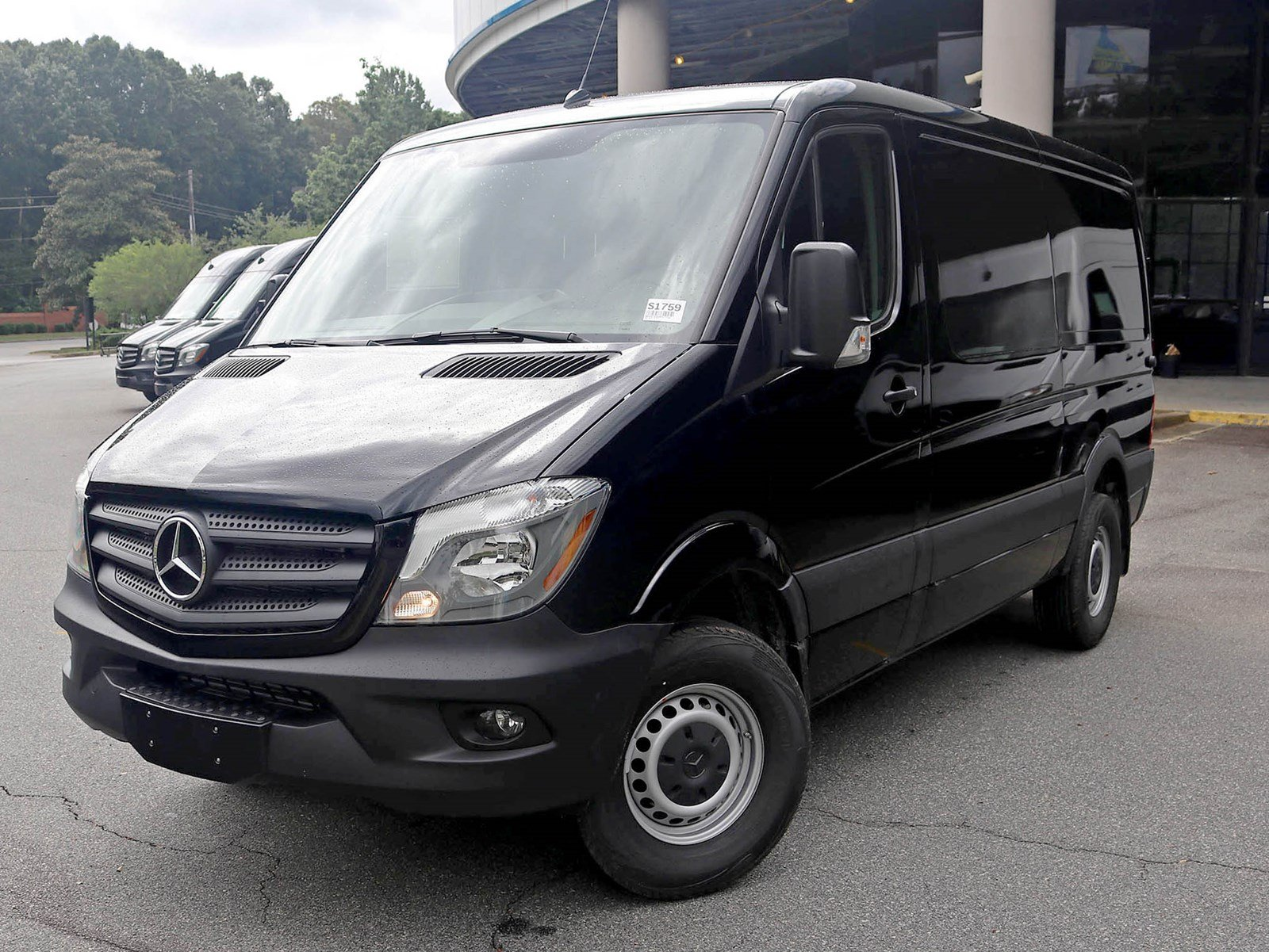 New 2017 mercedes benz sprinter cargo van in atlanta for Mercedes benz mechanic jobs