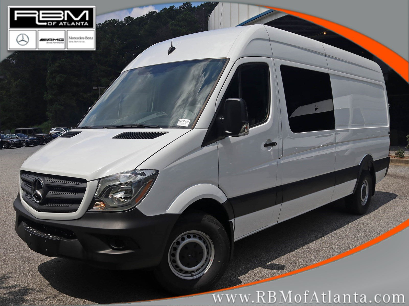 New 2017 mercedes benz sprinter crew van in atlanta s1748 for Mercedes benz mechanic jobs