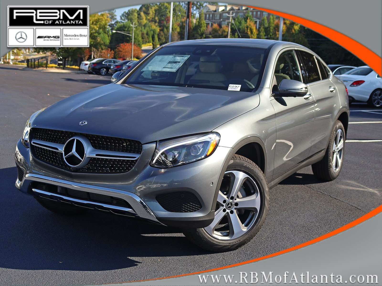 New 2019 Mercedes Benz Glc Glc 300 Coupe Coupe In Atlanta G197