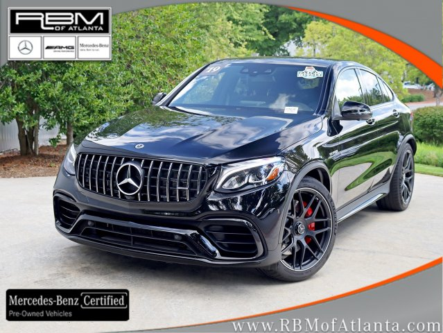 Certified Pre-Owned 2019 Mercedes-Benz GLC AMG® GLC 63 S 4MATIC+ Coupe