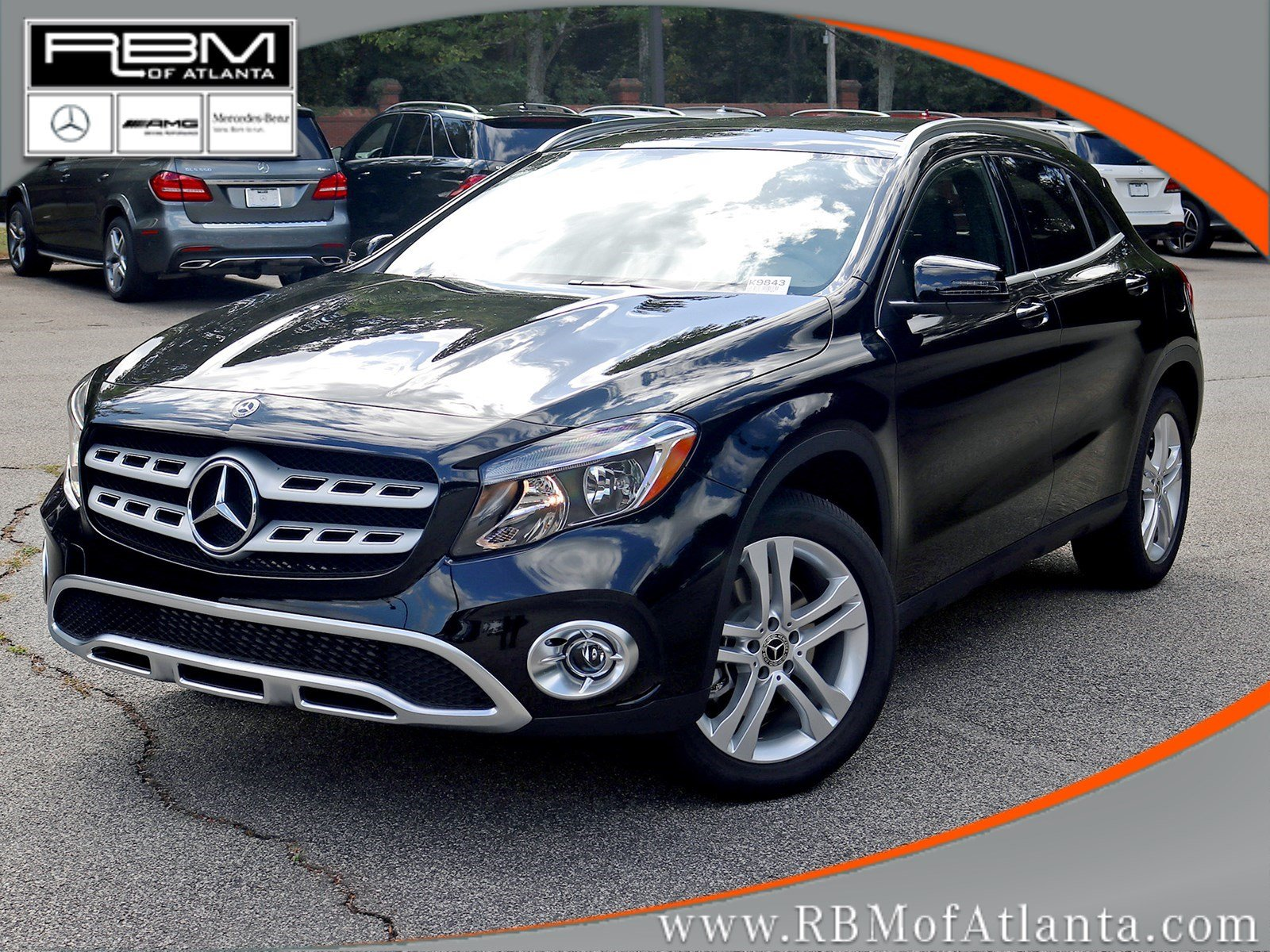 new 2018 mercedes benz gla gla 250 suv in atlanta k9843 rbm of atlanta. Black Bedroom Furniture Sets. Home Design Ideas