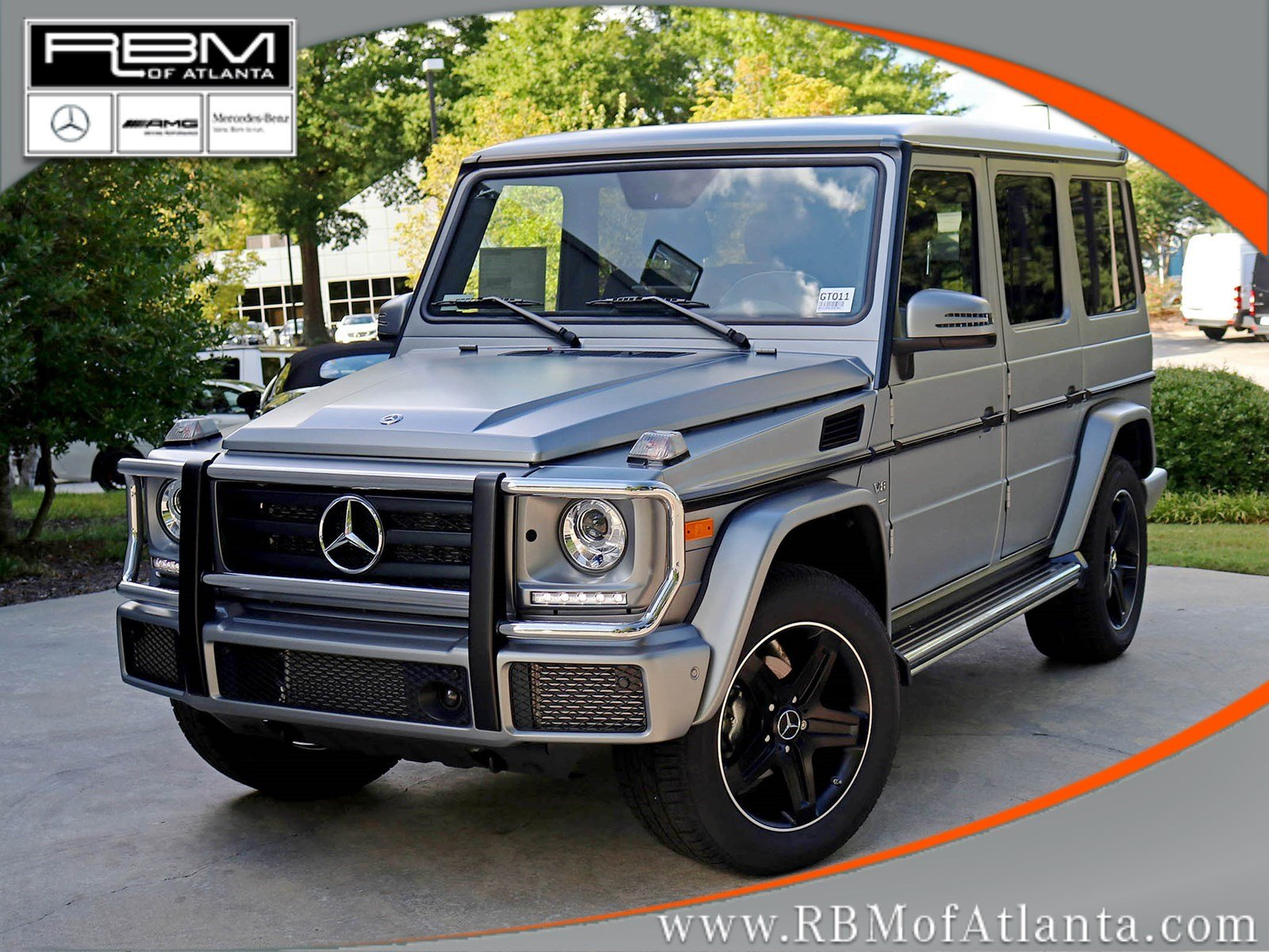 New 2018 Mercedes Benz G Class G 550 SUV in Atlanta GT011