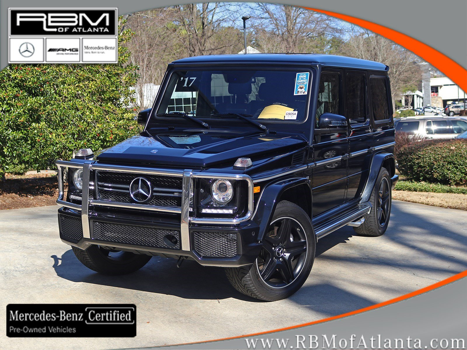 Certified Pre-Owned 2017 Mercedes-Benz G-Class AMG® G 63 4MATIC®