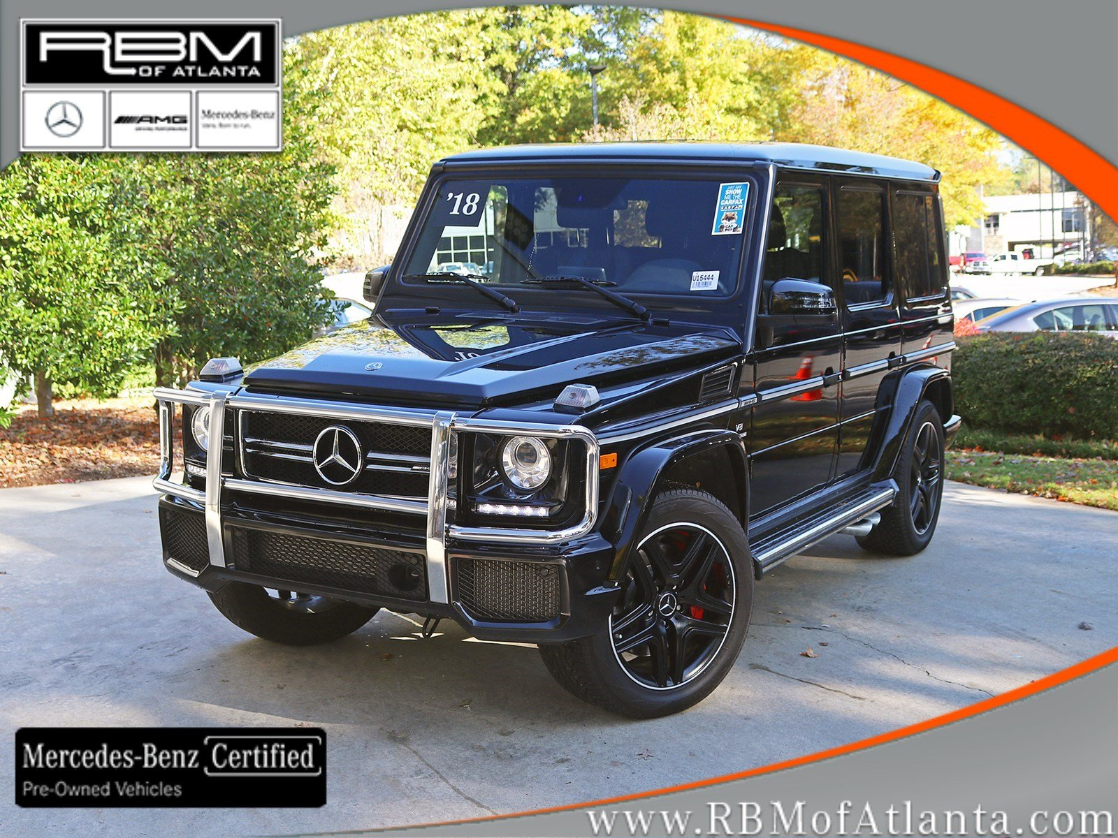 Certified Pre-Owned 2018 Mercedes-Benz G-Class AMG® G 63 4MATIC®