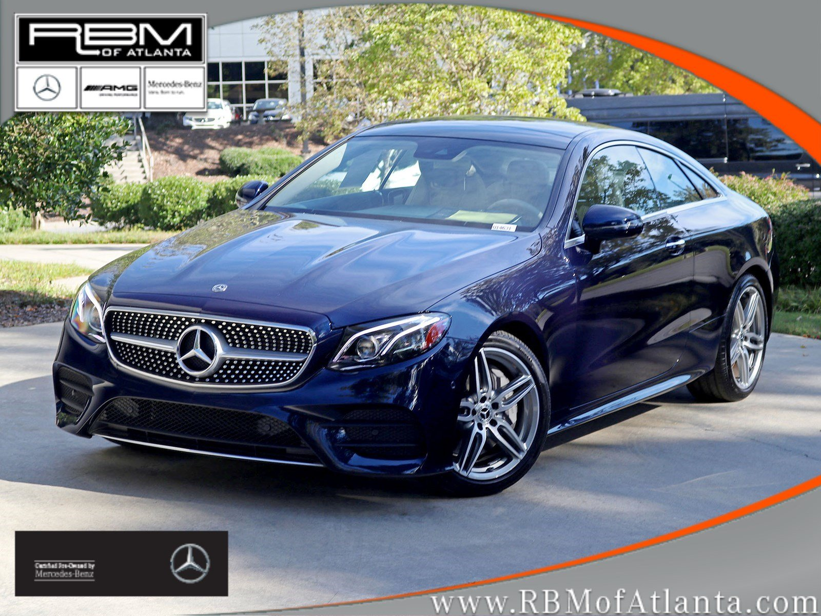 Certified Pre Owned 2018 Mercedes Benz E Class E 400 Coupe Coupe in
