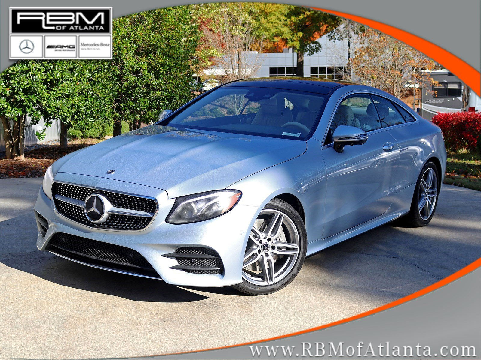 New 2019 Mercedes Benz E Class E 450 Coupe Coupe in Atlanta M