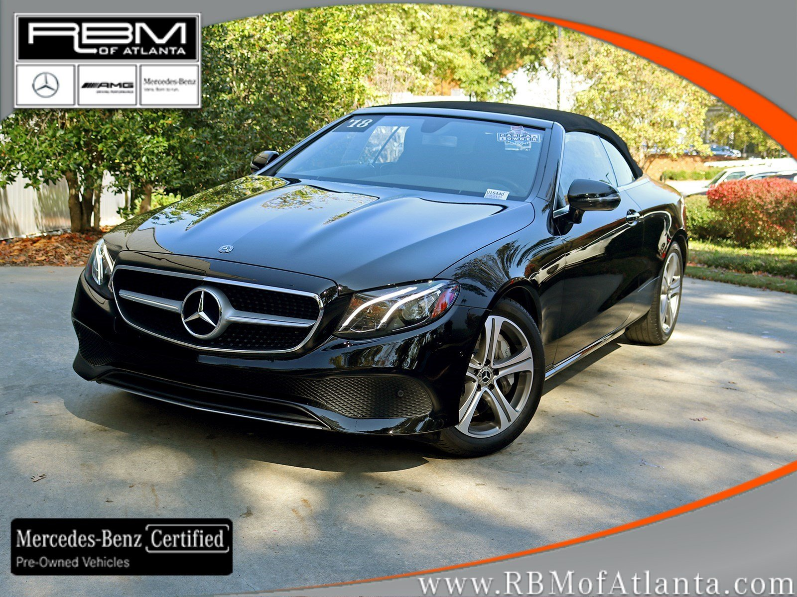 Certified Pre-Owned 2018 Mercedes-Benz E-Class E 400 Cabriolet