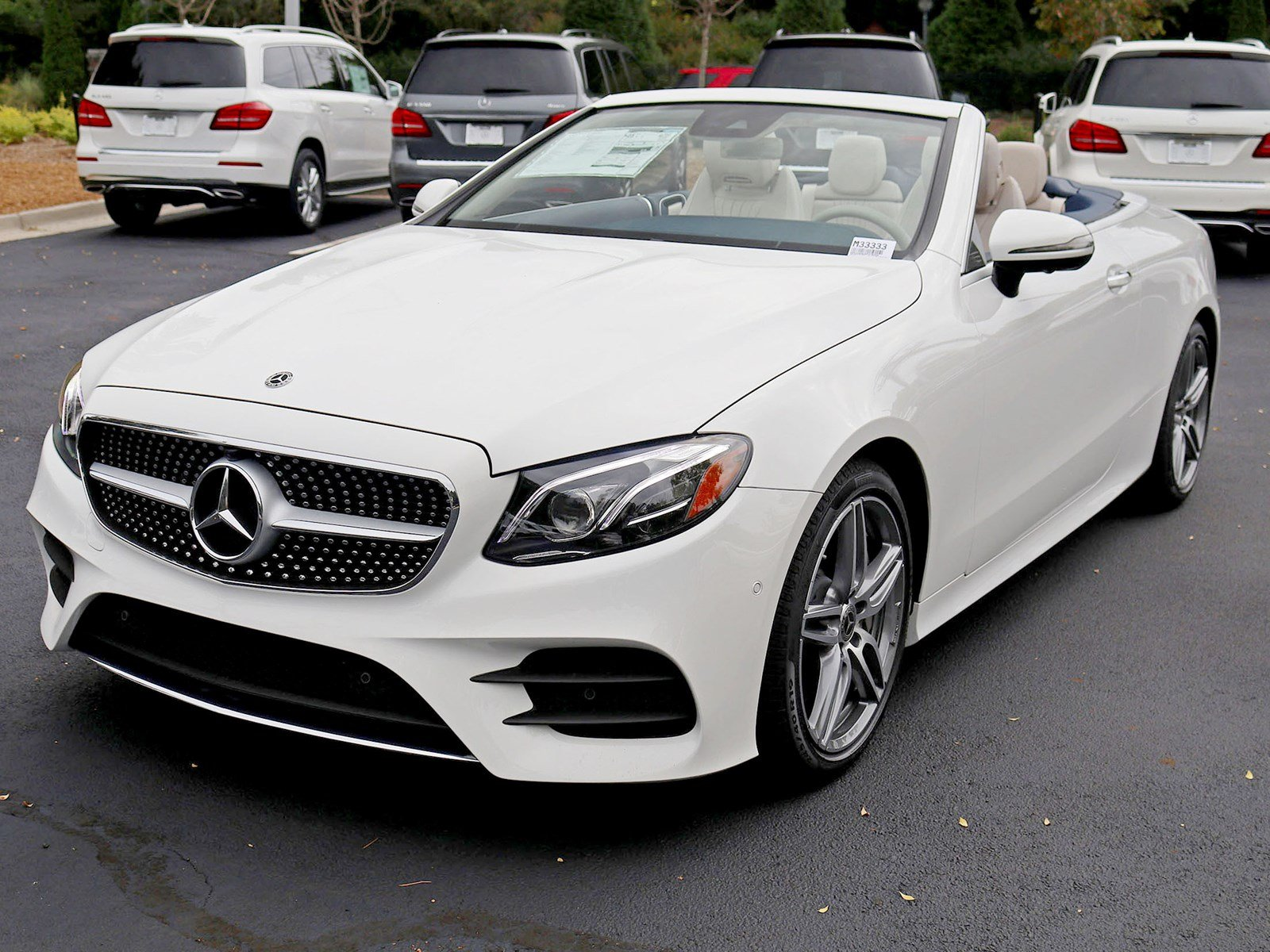 New 2019 Mercedes Benz E Class E 450 Cabriolet Convertible in