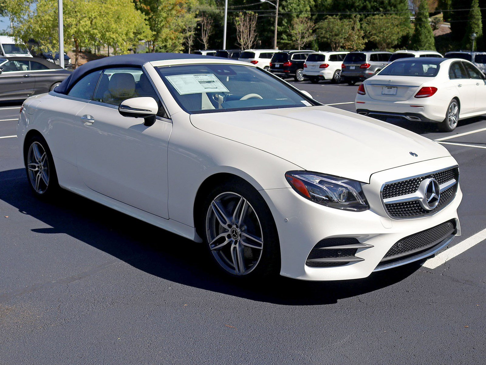 New 2019 Mercedes Benz E Class E 450 Cabriolet CABRIOLET in Atlanta