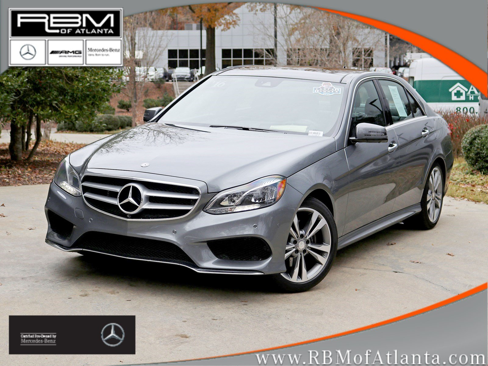 Certified Pre Owned 2016 Mercedes Benz E Class E 350 Sport Sedan 4dr