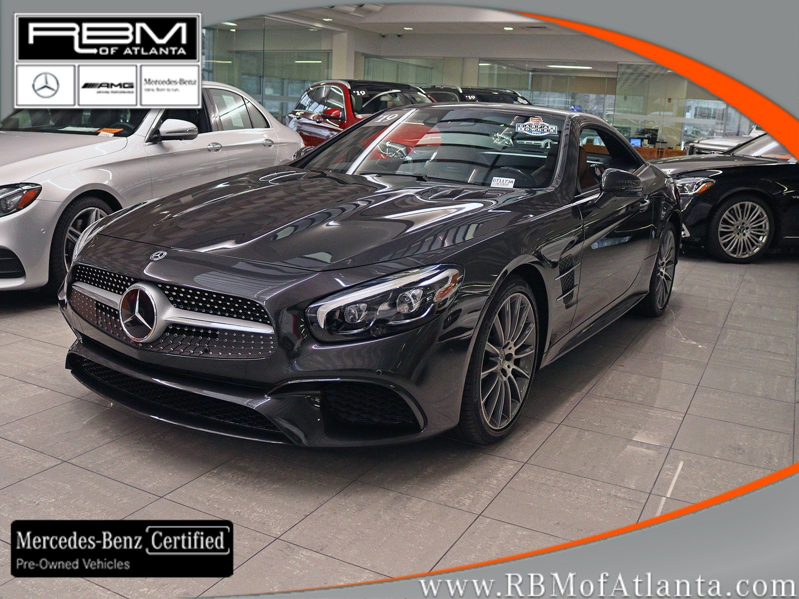 Certified Pre-Owned 2019 Mercedes-Benz SL SL 550 Roadster