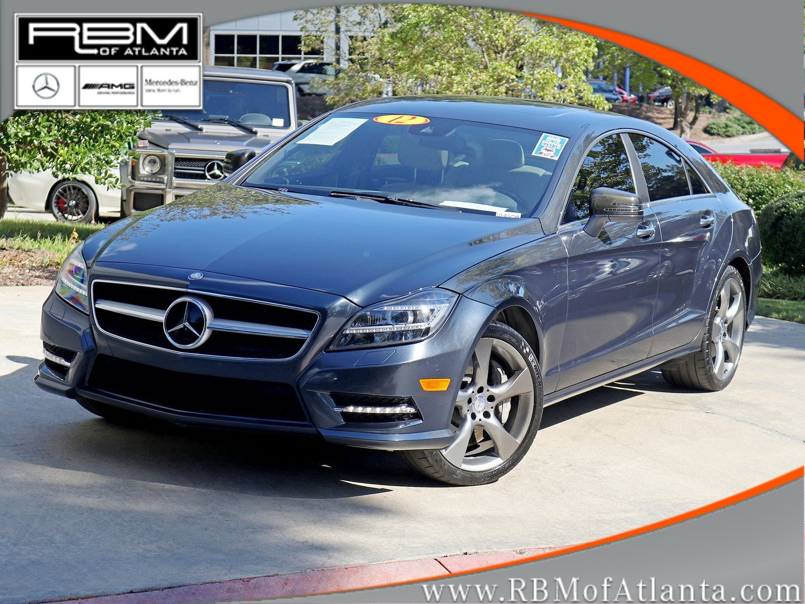 Pre Owned 2012 Mercedes Benz CLS CLS 550 4MATIC® Coupe