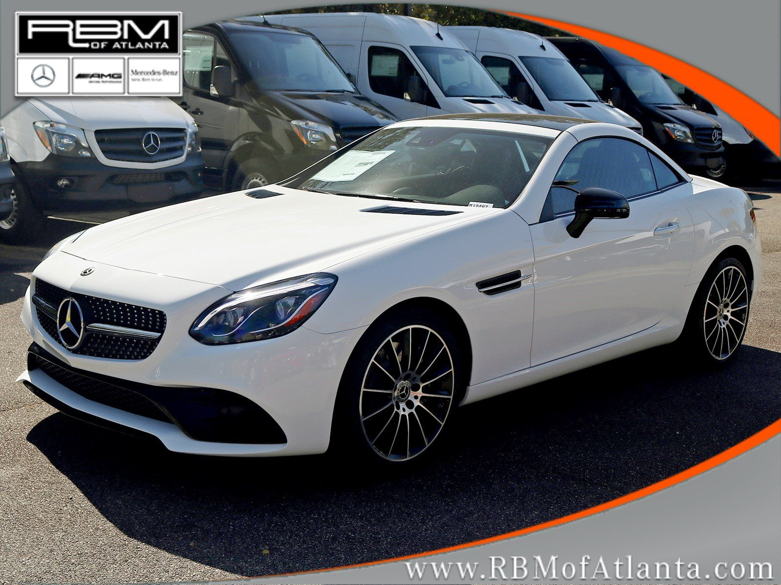 New 2018 mercedes benz slc slc 300 roadster convertible in for Slc mercedes benz