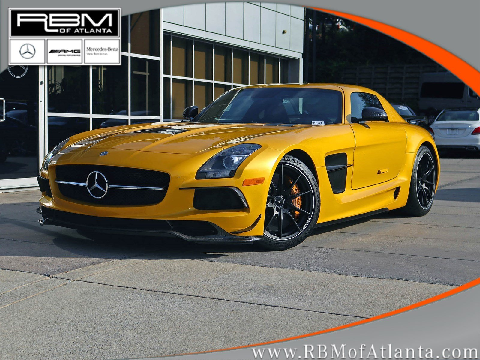 Pre owned 2014 mercedes benz sls sls amg black series for Pay mercedes benz online