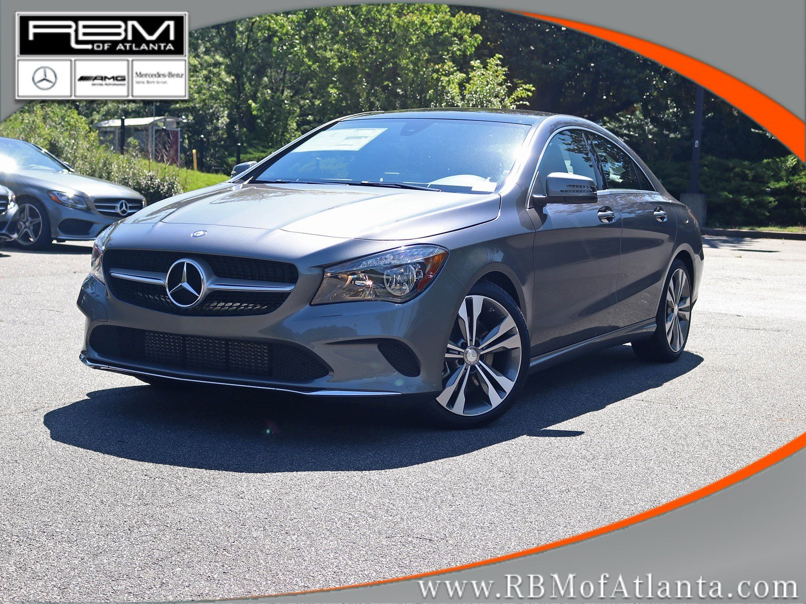 new 2018 mercedes benz cla cla 250 coupe in atlanta m32289 rbm of atlanta. Black Bedroom Furniture Sets. Home Design Ideas