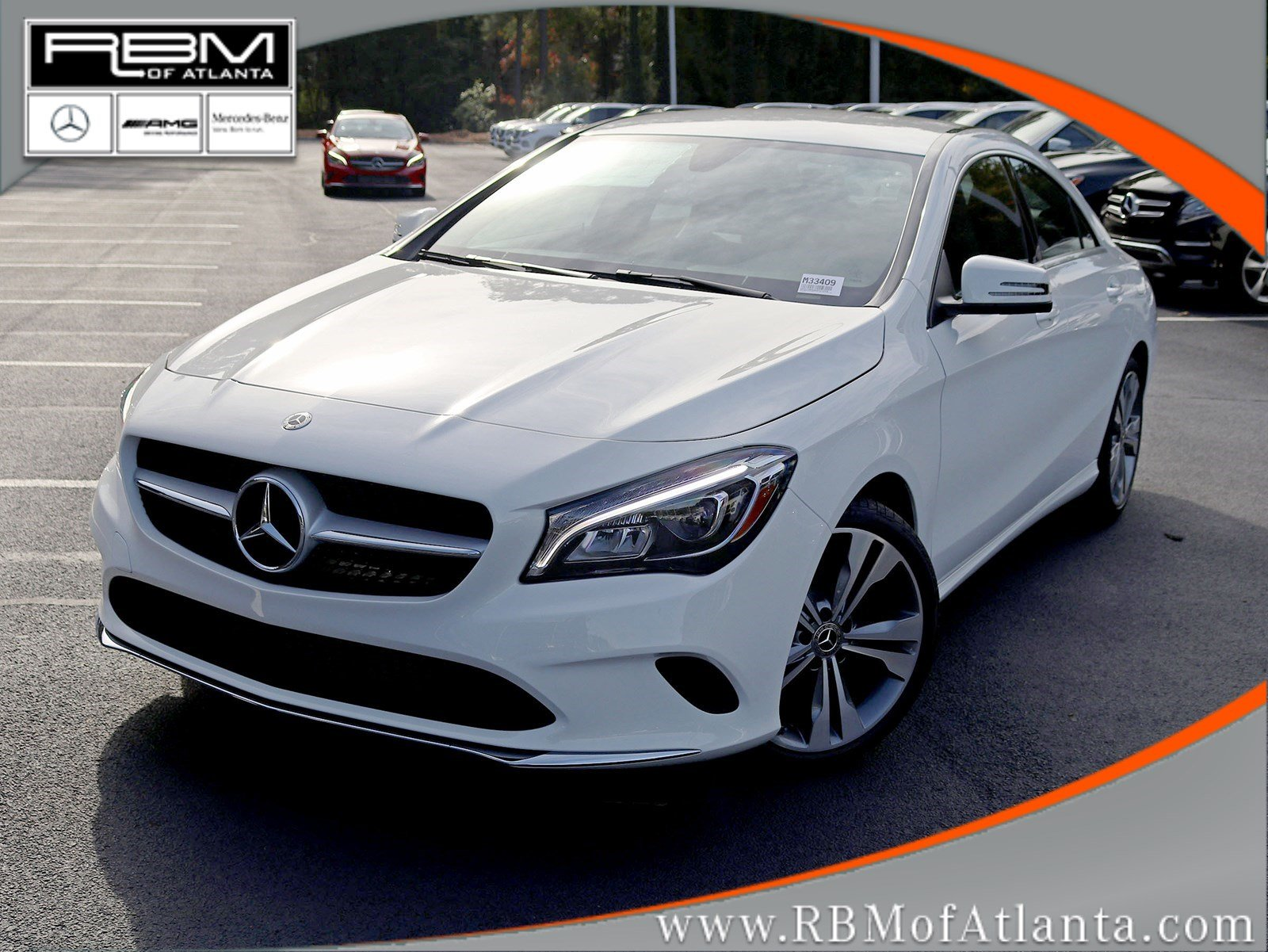 New 2019 Mercedes Benz Cla 250 Coupe In Atlanta M33409