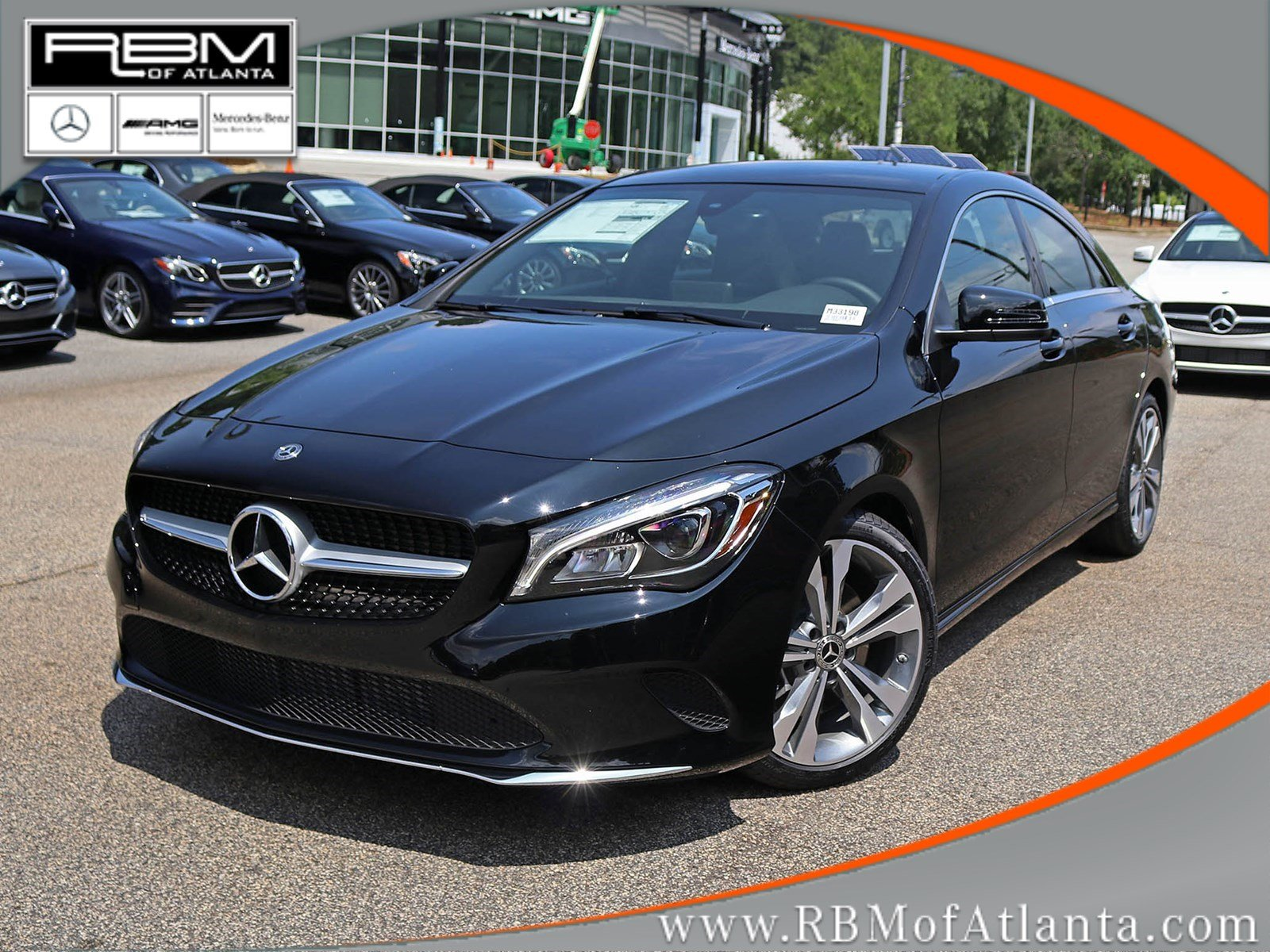 new 2019 mercedes benz cla cla 250 coupe coupe in atlanta m33198 rbm of atlanta. Black Bedroom Furniture Sets. Home Design Ideas