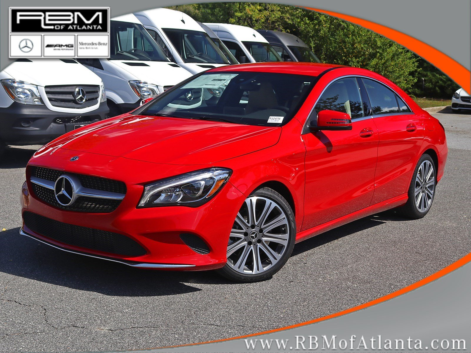 new 2018 mercedes benz cla cla 250 coupe in atlanta m32476 rbm of atlanta. Black Bedroom Furniture Sets. Home Design Ideas