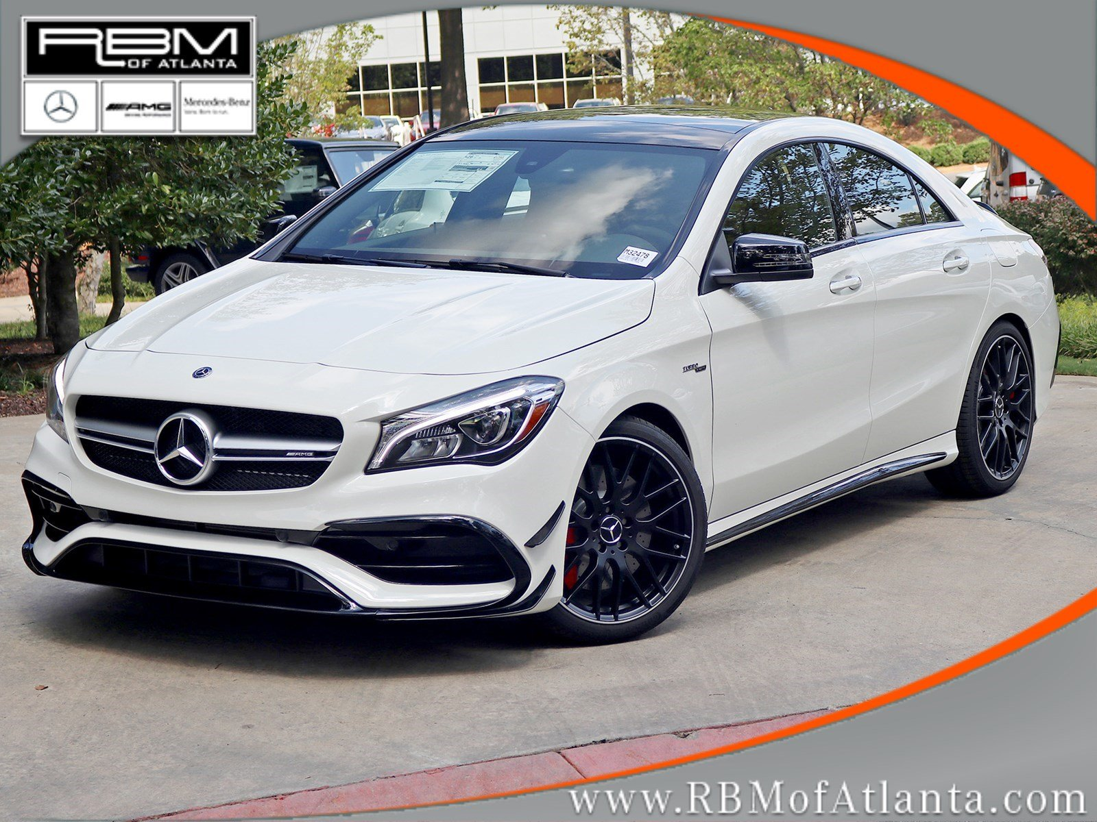 new 2018 mercedes benz cla amg cla 45 coupe in atlanta m32478 rbm of atlanta. Black Bedroom Furniture Sets. Home Design Ideas