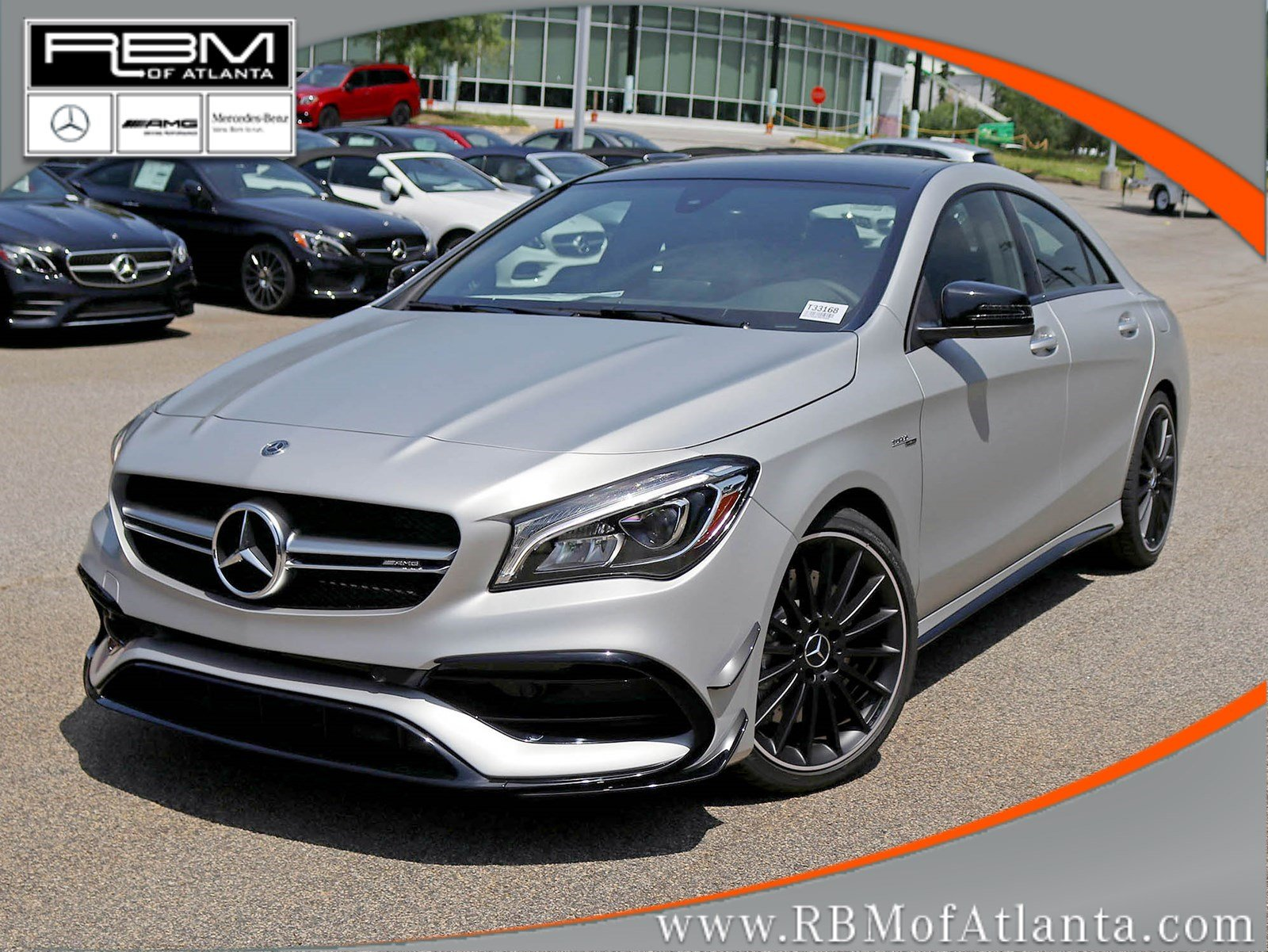 new 2018 mercedes benz cla amg cla 45 coupe in atlanta. Black Bedroom Furniture Sets. Home Design Ideas