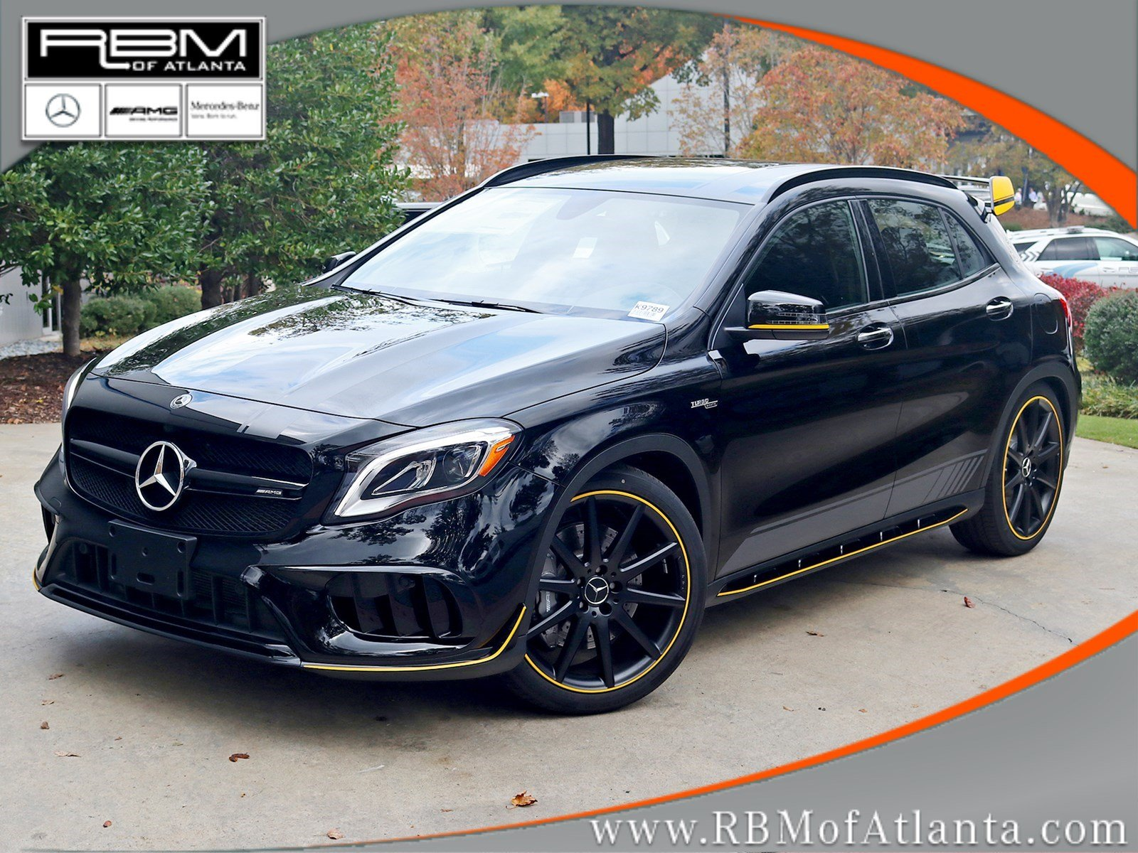 new 2018 mercedes benz gla amg gla 45 suv in atlanta. Black Bedroom Furniture Sets. Home Design Ideas