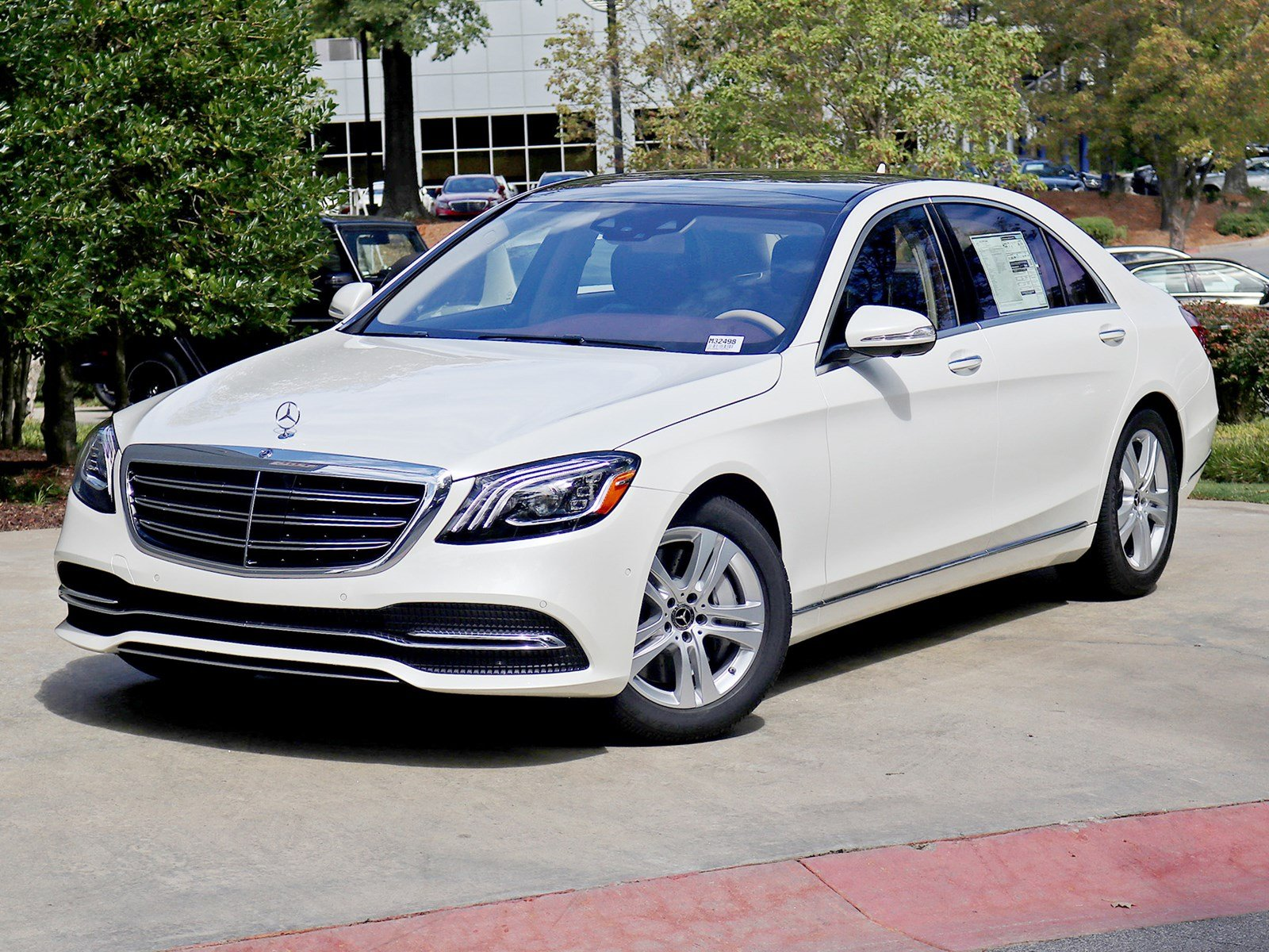 New 2018 mercedes benz s class s 450 sedan in atlanta for Mercedes benz rbm